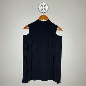 Frank Lyman Design Cold Shoulder Blouse